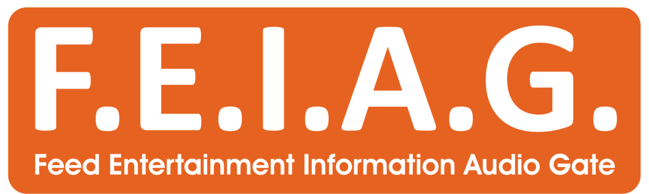 Logo of the F.E.I.A.G. (Feed Entertainment Information Audio Gate)